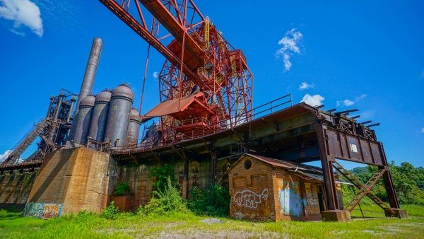 The Carrie Furnaces in Pittsburgh