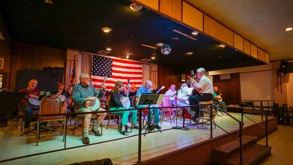 Banjo Night at the Elks Club in Pittsburgh
