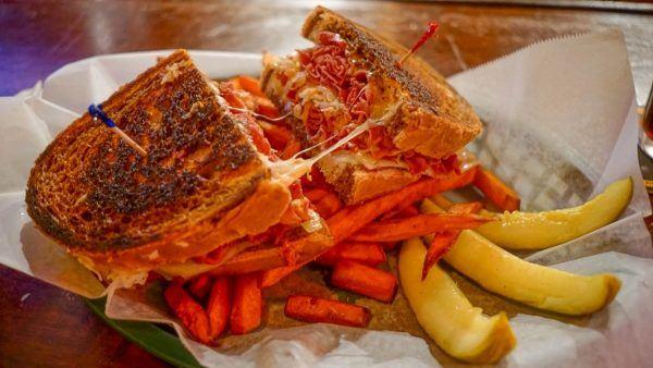 Riley's Pour House Offers the Best Reuben Sandwich