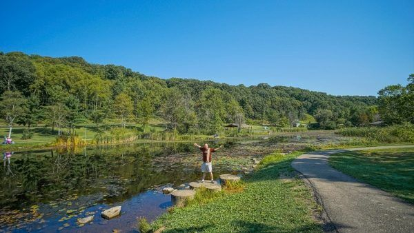 Deer Lakes Park is one of our favorite Allegheny County Parks