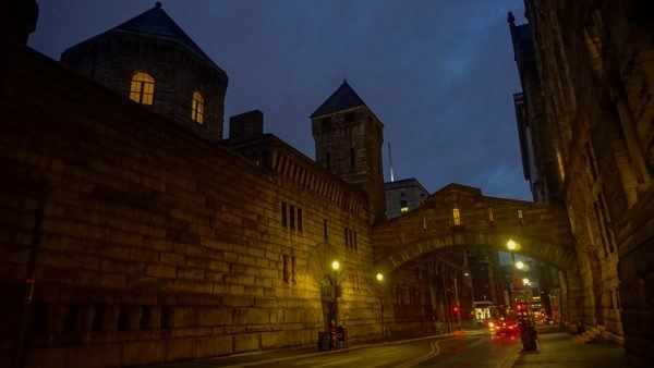 The old Allegheny County Jail in Pittsburgh