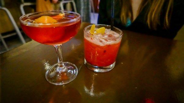 Cocktails at Braddock's
