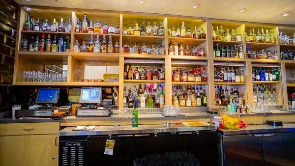 The Bourbon Bar at Braddock's
