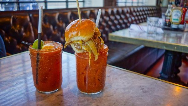 Bloody Mary's at Bill's in Pittsburgh