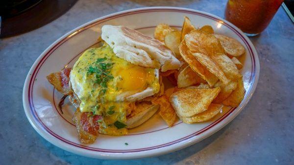 Breakfast Burger at Bill's