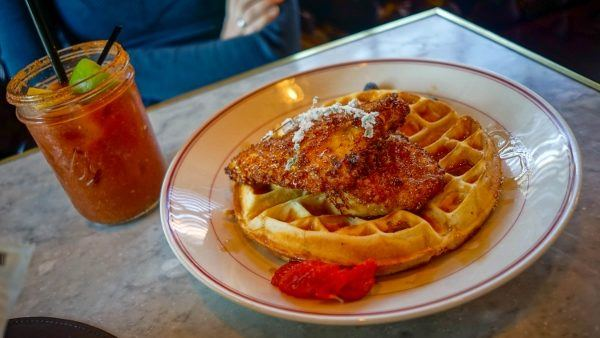 Fried Chicken and Waffles in Pittsburgh