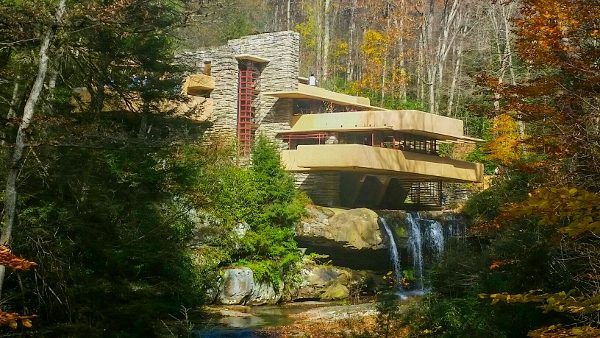 Fallingwater Outside of Pittsburgh