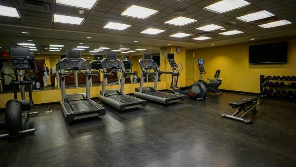 Fitness Center at the SpringHill Suites North Shore