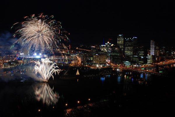 Pittsburgh Light Up Night