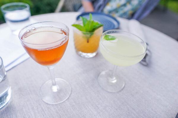 Cocktails at Pusadee's Garden