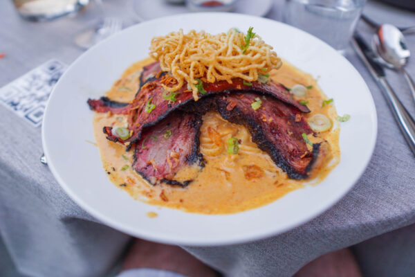 Brisket and Yellow Curry
