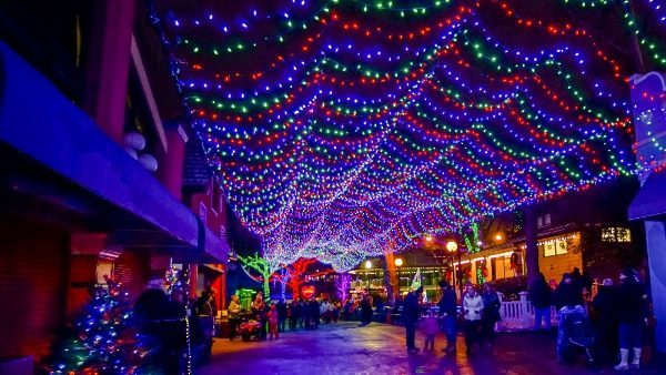 Kennywood at Christmas