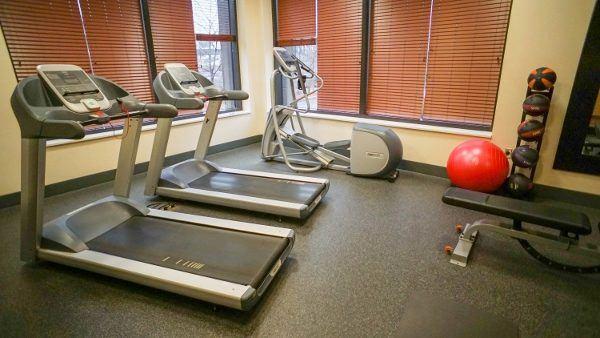 Fitness Center at Hampton Inn Pittsburgh