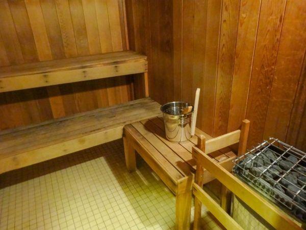 Sauna at the Hyatt Regency Pittsburgh Airport
