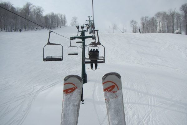 Skiing at Seven Springs