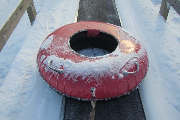 snow tubing in PA at Seven Springs