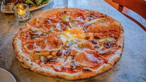 Capricciosa Pizza from Piccolo Forno