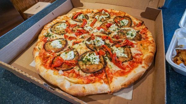 Eggplant Parm from DeMore's Pizzeria