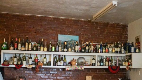 Bottle Collection at Jozsa Corner