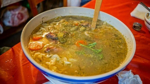 Hungarian Soup at Jozsa Corner