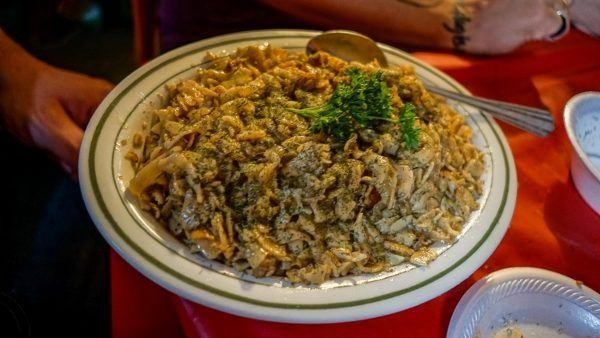 Homemade Noodles at Jozsa Corner