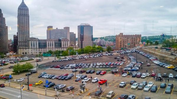 Parking at PPG Paints Arena