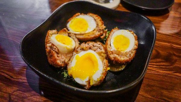 Scotch Eggs at Needle and Pin