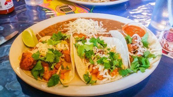 Tacos al Pastor at Mendoza Express
