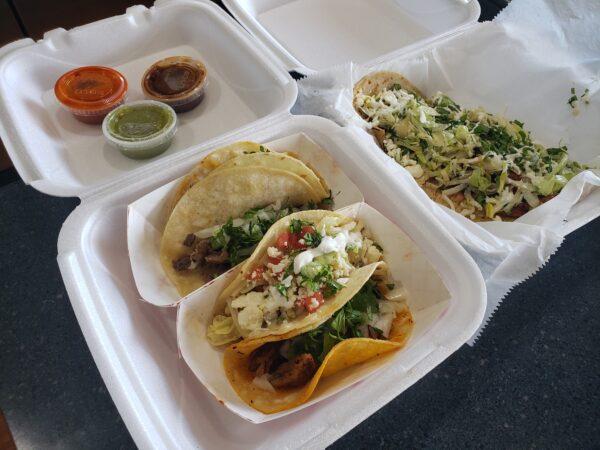 Tacos from El Rincon Oaxaqueno