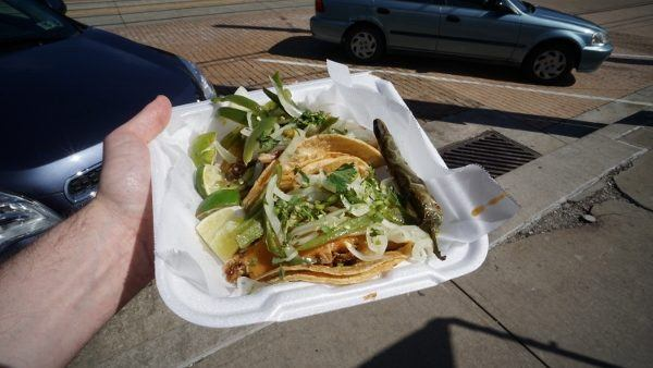 Tacos from Las Palmas