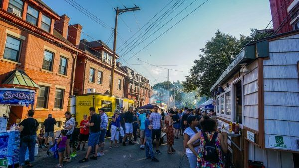 Food Trucks at the Deutschtown Music Festival