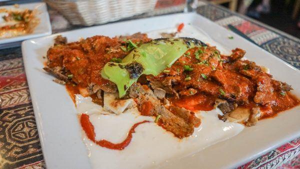 Kebab at Istanbul Sofra