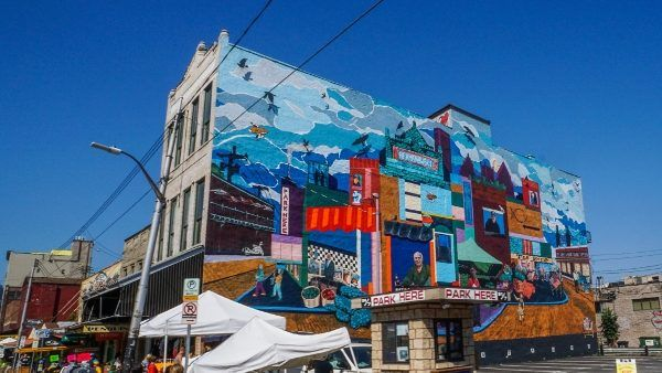 Mural in the Strip District