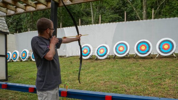 Archery at the Renaissance Festival