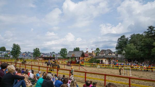 Jousting Competition at the Pittsburgh Renaissance Festival