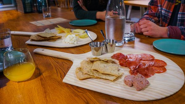 Meat and Cheese Tray at Threadbare