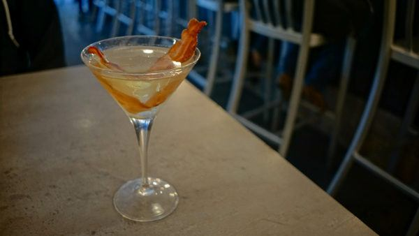 Bacon Martini at Bakn