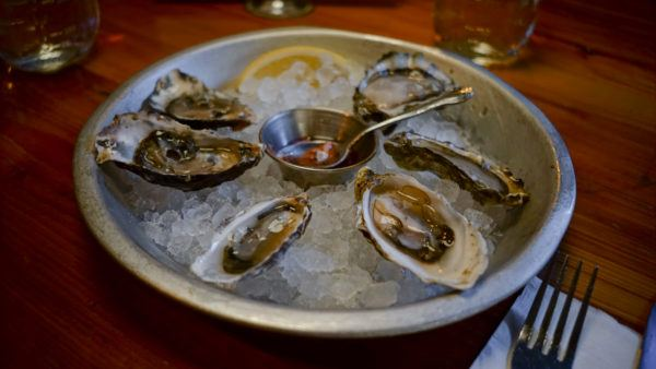 Oysters and Cocktails at Muddy Waters