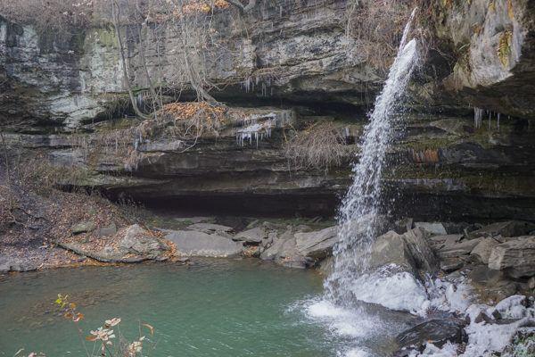 Buttermilk Falls in Beaver Falls, PA