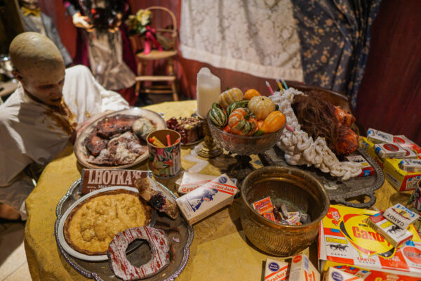 Dining Room Scene at ScareHouse