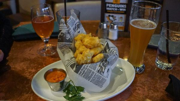Cheese Curds at City Works