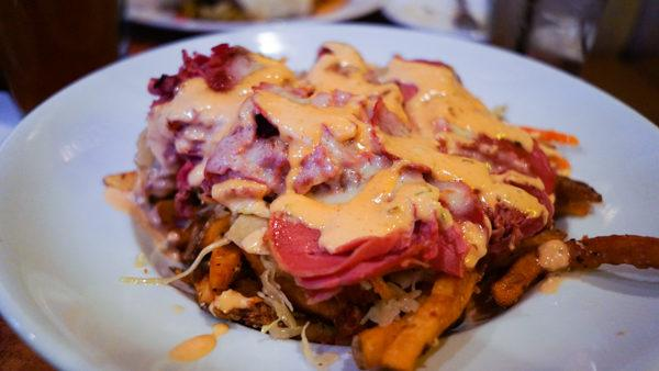 Reuben Bowl at Dive Bar