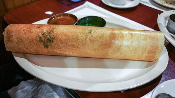 Dosa at Udipi Cafe