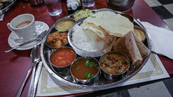 Thali Set at Udipi Cafe