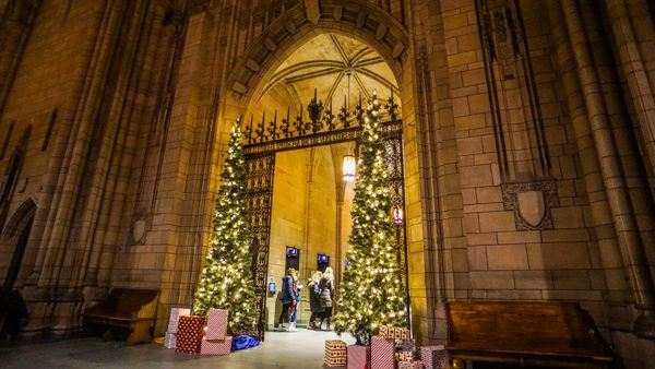 Christmas at the Cathedral of Learning