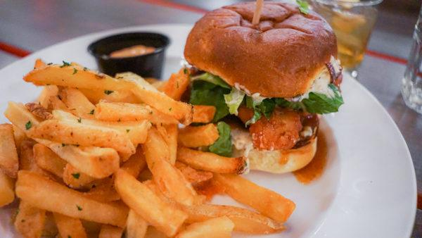 Korean Fried Chicken Sandwich at Provision