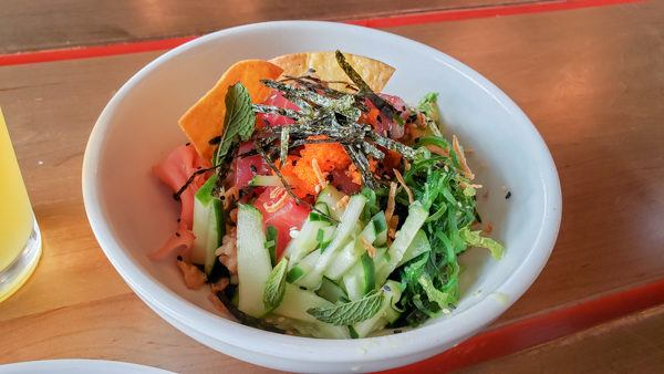 Poke Bowl at Shaka