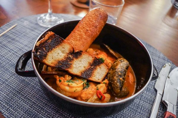 Fish Stew at Or, the Whale