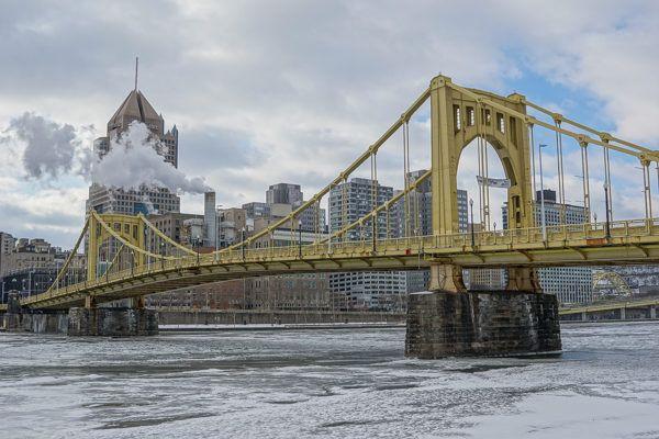 Clemente Bridge in Winter