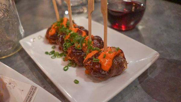 Devils on Horseback at Meat and Potatoes